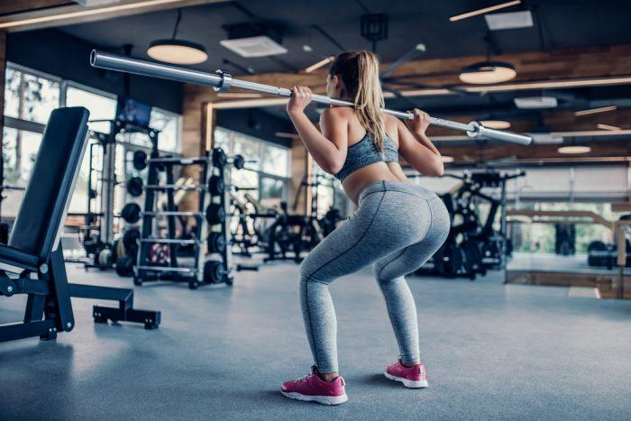 Strakke billen trainen schema sportschool