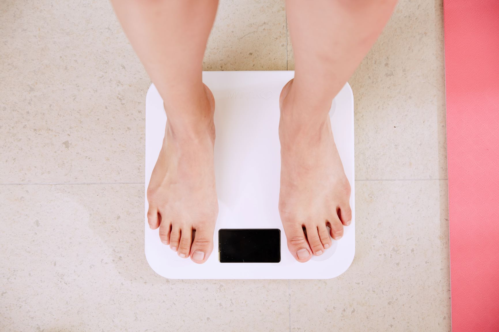 ik val niet af ondanks dieet