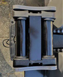 PowerBlock verstelbare dumbbells onderkant