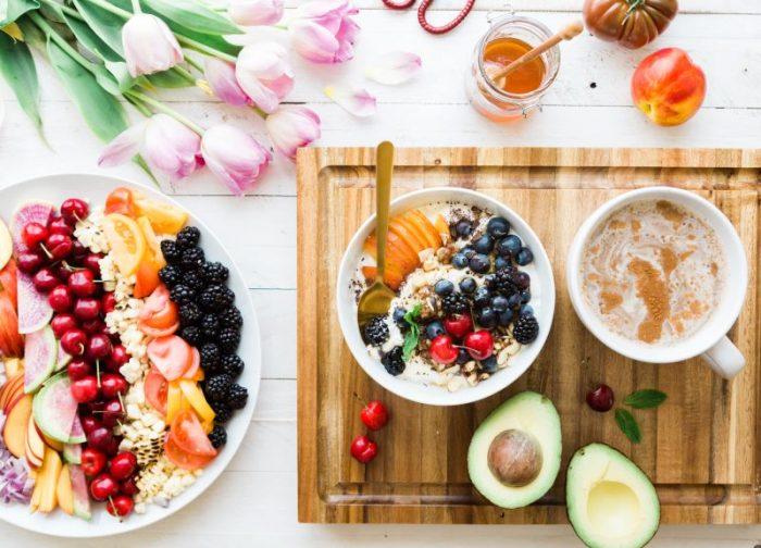 Gezond eten en afvallen weekmenu